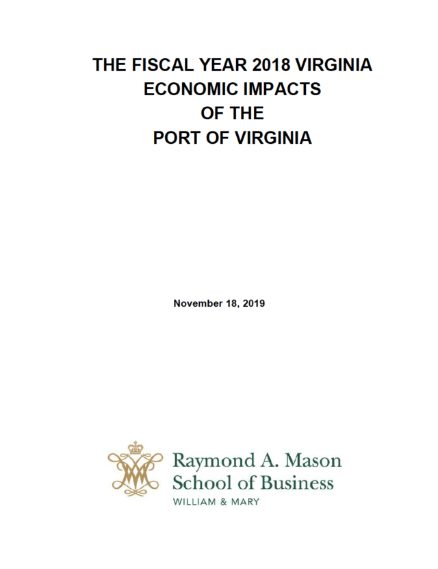 THE-FISCAL-YEAR-2018-VIRGINIA-ECONOMIC-IMPACTS-OF-THE-PORT-OF-VIRGINIA